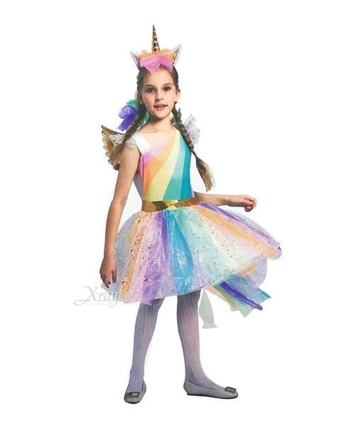 彩虹小馬(小孩),萬聖節服裝/化妝舞會/派對道具/尾牙變裝/cosplay/獨角獸,節慶王【W622581】