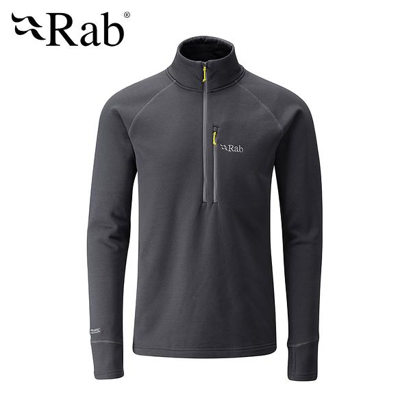 英國 RAB Power Stretch Pro Pull-On 保暖排汗衣 男款 鯨魚灰 #QFE62