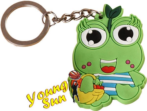 造型鑰匙圈 客製化鑰匙圈 送禮好物 婚禮小物 個性鑰匙圈 廣告文宣 Q版青蛙公仔