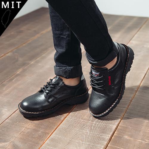 男女款 5001 牛頭牌 NewBuffalo 法國高級黑鋼頭三層式縫鞋底線真皮 安全鞋 工作鞋 59鞋廊
