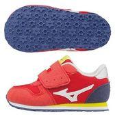 美津濃 MIZUNO幼兒鞋TINY RUNNER 5(紅X白)K1GD173216【 胖媛的店 】