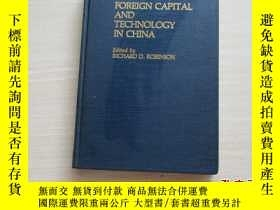 二手書博民逛書店FOREIGN罕見CAPITAL AND TECHNOLOGY