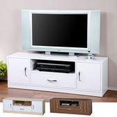 電視櫃《YoStyle》清新森林電視櫃 視聽櫃 置物櫃 書櫃 音響架 電視櫃(三色)