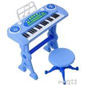 俏娃寶貝兒童鋼琴玩具女孩寶寶電子琴1-2-5周歲小孩生日禮物六一igo 【PINK Q】