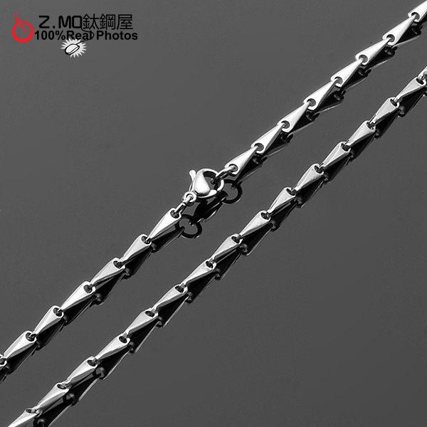 『Z-MO鈦鋼屋』316L抗過敏不生鏽,西德鋼情侶對鍊/鍊子/項鍊系列~可碰水鋼鍊~【DIS043】