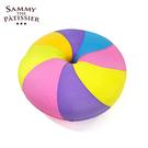 彩虹款【日本進口】貝果 捏捏吊飾 吊飾 捏捏樂 軟軟 squishy 捏捏 Sammy the Patissier - 615756