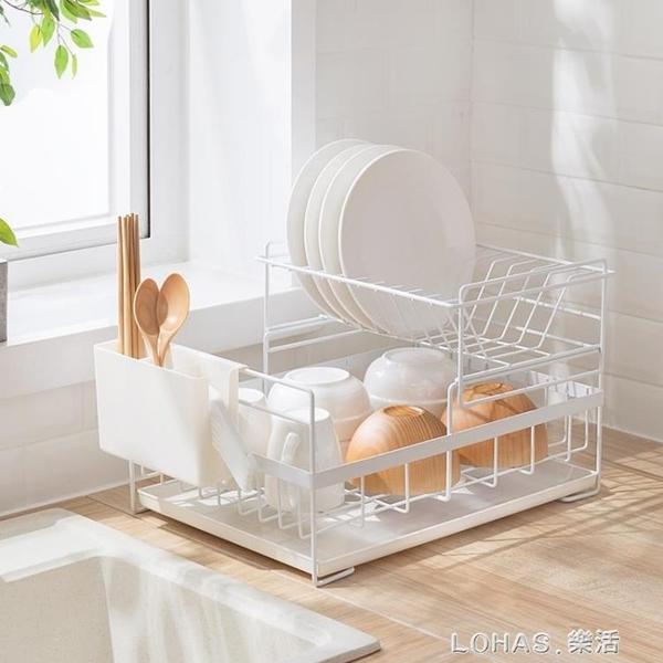 放碗架瀝水架碗筷碗碟架家用廚房置物架碗筷餐具收納晾碗架 樂活生活館