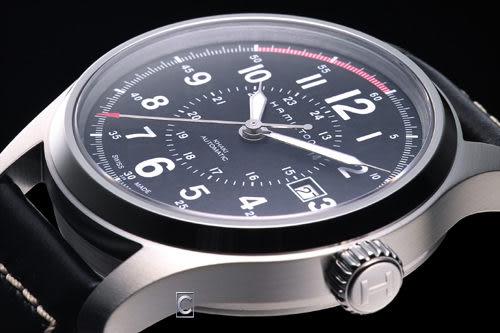 HAMILTON Khaki 航空機械腕錶 H70595733