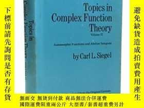 二手書博民逛書店Topics罕見In Complex Function Theory, Vol. 2Y256260 Carl