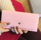 ►長夾 皮夾 新款 小鳥 甜美淑女長款錢包 手機包【D1041】
