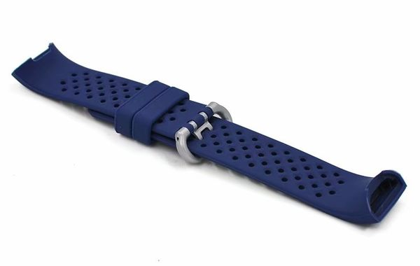 Fitbit Charge3 矽膠錶帶 替換 智慧手環 腕帶 手錶矽膠錶帶透氣 錶帶 運動腕帶 Charge3