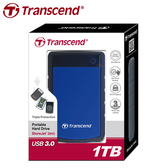 [哈GAME族]免運費●品質保證●Transcend 創見 StoreJet 25H3 1TB 2.5吋 USB3.0軍規防震外接式硬碟
