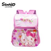 【正版授權】凱蒂貓 玫瑰花系列 後背包 背包 書包 Hello Kitty 三麗鷗 Sanrio - 449509