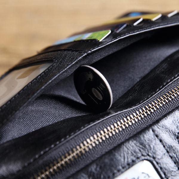 【Solomon 原創設計皮件】果實系列 扣式長夾
