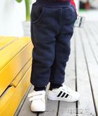 女童秋冬褲子男童加絨棉褲1-2-3-4-5歲小童嬰兒男寶寶加厚保暖褲