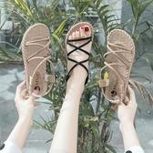衣普菈 平底涼鞋女鞋2019夏季休閒