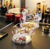 首飾收納盒 透明亞克力首飾盒收拾飾品收納發圈耳環釘手項鏈收納整理架 莎瓦迪卡