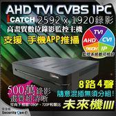 【台灣安防家】ICATCH 可取 8路 4聲 AHD TVI 1920P 5MP 500萬 4K 混合型 監控主機 DVR