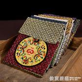 中國風云南民族特色麻布刺繡斜挎包零錢包手機包出國送老外小禮品  依夏嚴選