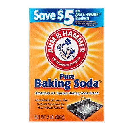 美國 A&H 清潔用小蘇打粉(盒裝) 907g 小蘇打粉 去味 除臭 清潔 汙垢 油漬 鐵鎚牌