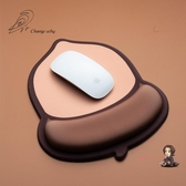售完即止-滑鼠墊 [牆外]堅果滑鼠墊護腕手托可愛卡通創意女生辦公加厚庫存清出(1-10S)