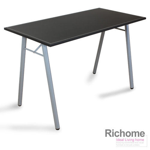 【RICHOME】《皮面工作桌》書桌/辦公/電腦桌/兒童桌椅/傢俱/嫁妝/衣櫥/書櫃