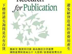 二手書博民逛書店Designing罕見Research For PublicationY256260 Anne Sigismu