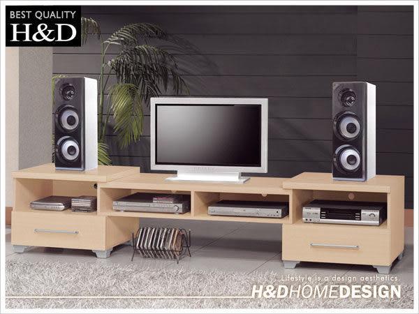 電視櫃。布拉德4~7.4尺伸縮電視櫃 /3色(18JS1/416-2~4) / H&D東稻家居