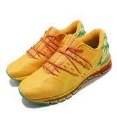 【六折特賣】Asics 慢跑鞋 Gel-Quantum 360 KO100 黃 橘 女鞋 運動鞋 100週年 向日葵 【ACS】 1022A055800