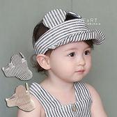 老鼠耳朵空頂遮陽帽 童帽 遮陽帽 空頂帽