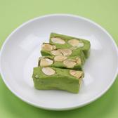 抹茶牛軋糖~使用杏仁果粒、麥芽糖 不黏牙150克 純手工 【正心堂】