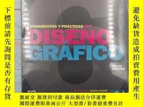二手書博民逛書店Diseño罕見gráfico : fundamentos y prácticas (Spanish) 圖形設計:
