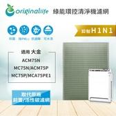 大金清淨機濾網 (ACM75N/MC75N/ACM75P/MC75P/MCA75PE1) 新革命技術環保可水洗式