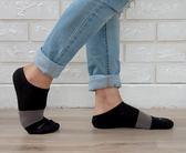 (男襪) 專業抗菌襪 抗菌除臭襪 吸濕排汗除臭襪  抗菌氣墊短襪-黑灰黑【M20001-02】Nacaco