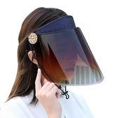 夏季騎車遮陽帽夏天防紫外線女士太陽帽騎電動車防曬時尚帽子空頂   LannaS