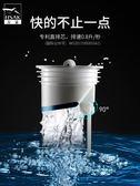 漢鯊地漏防臭器衛生間廁所防蟲反味下水道防臭神器矽膠蓋地漏內芯  極有家
