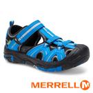 【MERRELL 美國】HYDRO 童水陸兩棲鞋『藍/黑』K262542 機能鞋.多功能鞋.休閒鞋.童鞋