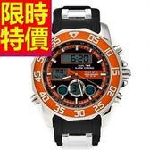 電子手錶-防水品味設計運動腕錶3色58j27[時尚巴黎]