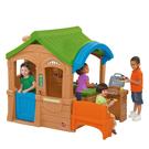 【華森葳兒童教玩具】扮演角系列-Step2 休閒燒烤小屋 A4-800100