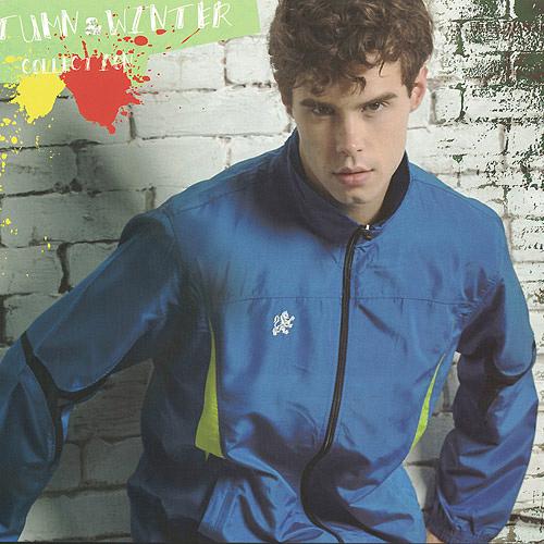 MILD STAR  男女平織網裡運動服套裝[全套]-寶藍-JS601505+PS601605