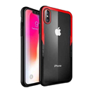 【默肯國際】 G-CASE 晶透系列 iPhone X (5.8吋)透明玻璃 TPU包邊軟殼 吊飾孔 防摔 手機保護殼