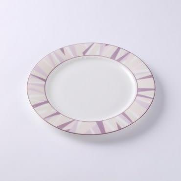 HOLA 索菲亞玫瑰金骨瓷平盤 20cm