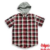 BOBSON 男款短袖格紋襯衫(22001-17)