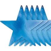 9吋星星紙卡5入-寶石藍