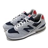 New Balance 休閒鞋 CM996 灰 藍 男鞋 麂皮 復古 慢跑鞋 【ACS】 CM996SHDD