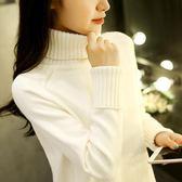 高領毛衣女秋裝新款2018韓版寬鬆套頭學生長袖針織打底衫秋冬百搭【限時八八折】