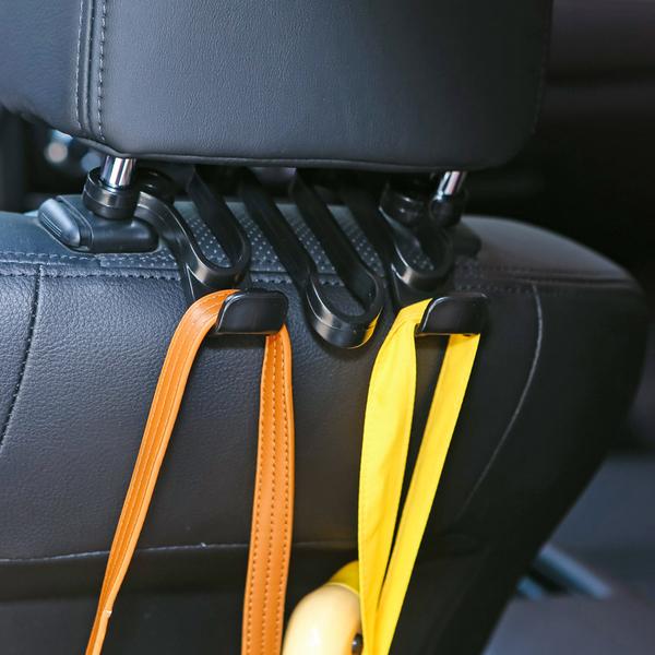 [超豐國際]隱藏式汽車椅背掛鉤車載座椅背鉤子車內用品多功能后背掛架