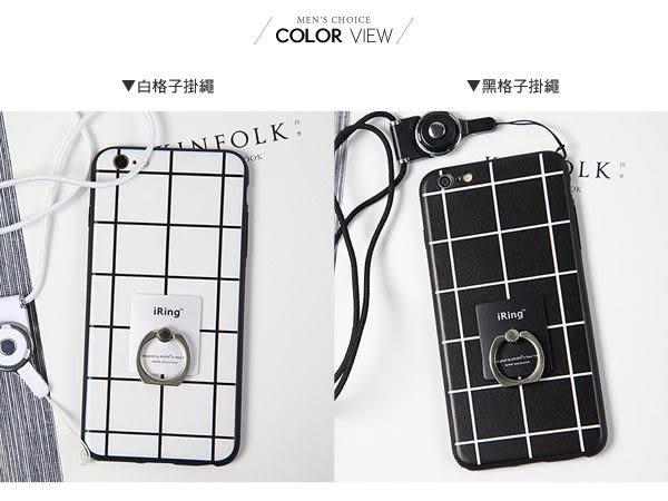 手機殼 簡約普普黑白格手機殼 哀鳳 iphone i6.i6plus【N4041】