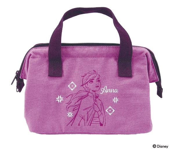 【安娜 手提便當袋】冰雪奇緣2 安娜 便當袋 手提袋 保溫 保冷 日本正版 該該貝比日本精品 ☆