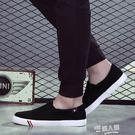男士帆布鞋懶人一腳蹬潮鞋休閒鞋板鞋韓版學生百搭鞋子男 母親節禮品